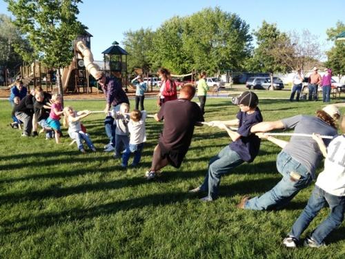 Calvary Baptist church Memorial Day fun